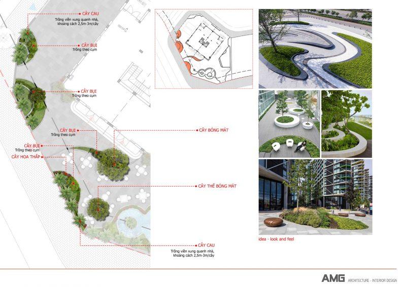 thiết kế sân vườn hà nội