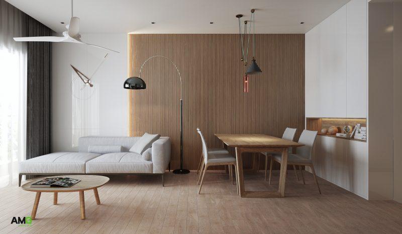 Thiết kế bàn ăn hiện đại