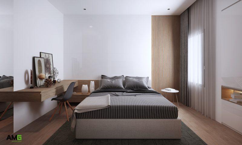 thiết kế nội thất chung cư Imperia Sky Garden tại phòng ngủ