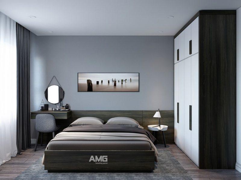 Nội thất giường ngủ, tủ quần áo gỗ công nghiệp