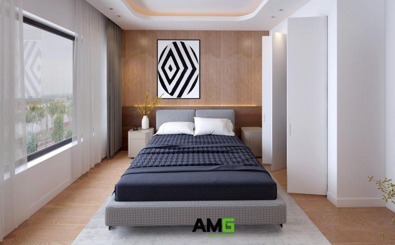 Thiết kế phòng ngủ cho ông bà tại ecorivers ecopark