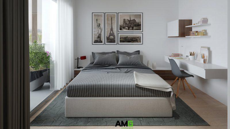 Thiết kế nội thất phòng cho bé theo phong cách hiện đại