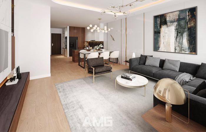 thiết kế nội thất ecopark