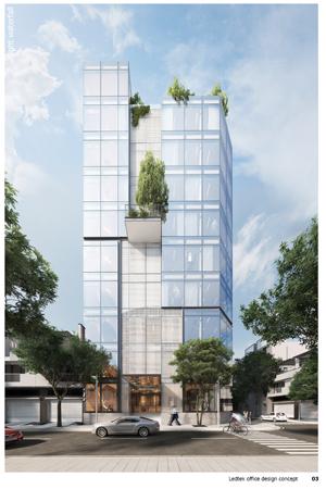 thiết kế kiến trúc tòa nhà văn phòng