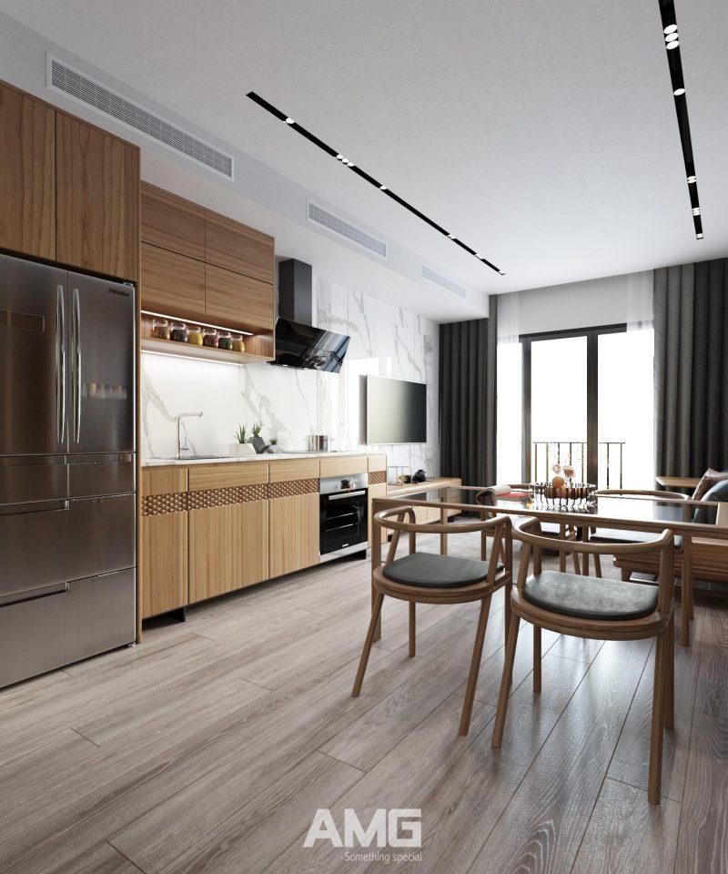 Hướng dẫn thiết kế nội thất chung cư Vinhomes West Point đẳng cấp
