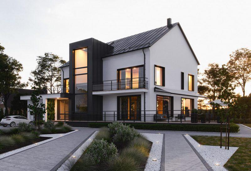 kiến trúc nhà đẹp chí linh hải dương