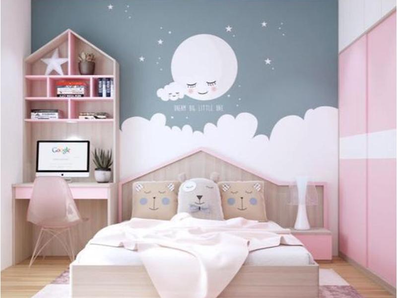 nội thất phòng bé gái