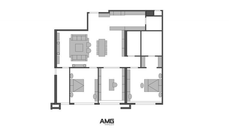 Thiết kế thi công nội thất chung cư King Palace Nguyễn Trãi sang trọng