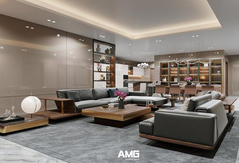 Thiết kế thi công nội thất chung cư King Palace Nguyễn Trãi