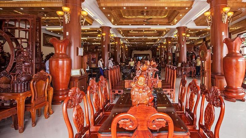 xưởng sản xuất nội thất Bắc Ninh