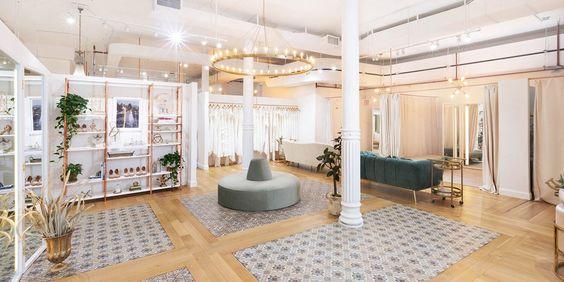 3 nguyên tắc cơ bản khi thiết kế nội thất showroom áo cưới
