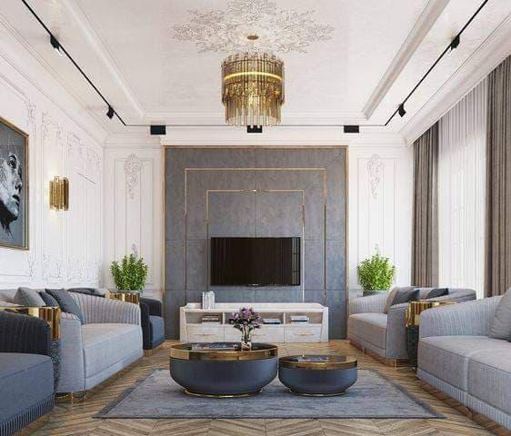 5 mẫu nội thất tân cổ điển đẹp, sang trọng và quý phái nhất