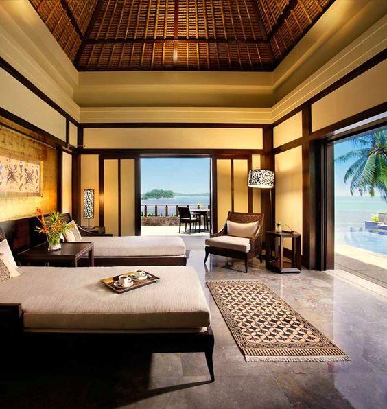 5 mẫu phòng ngủ resort nghỉ dưỡng đẹp -tiện nghi và đẳng cấp