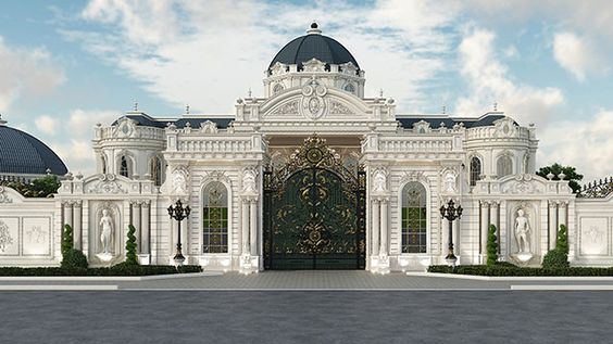 Biệt thự cổ điển  Hướng dẫn thiết kế kiến trúc biệt thự cổ điển đẹp