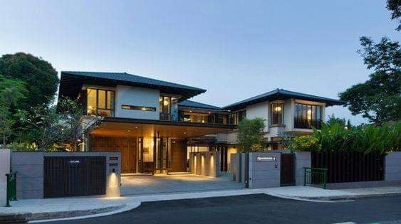 Thiết kế biệt thự kiểu Hàn Quốc