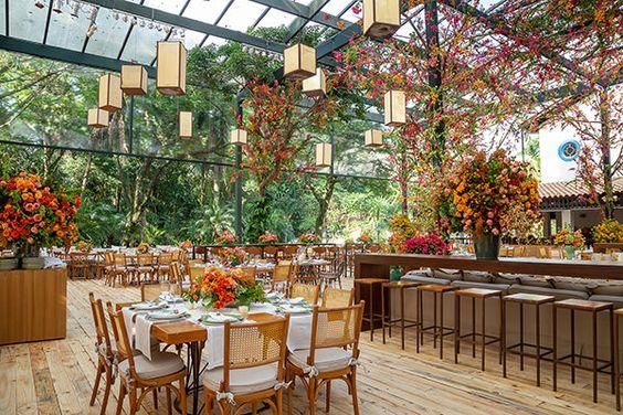 Nhà hàng sang trọng -Những thiết kế nhà hàng đẹp sang trọng ngoài trời