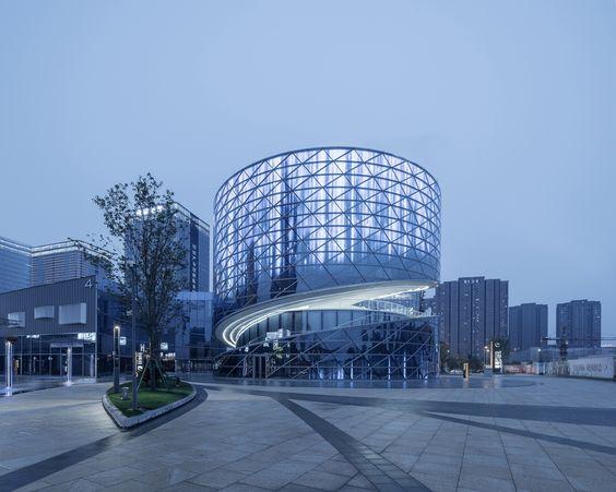 Thiết kế kiến trúc tòa nhà văn phòng đẹp