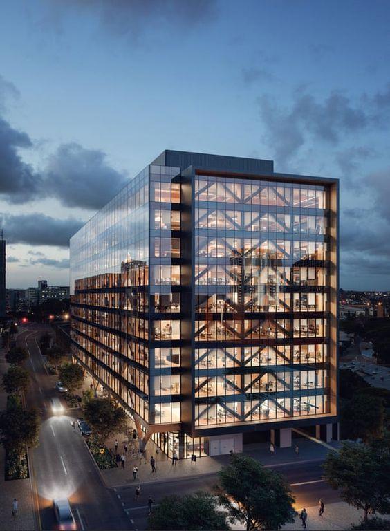 Tòa nhà văn phòng 11 tầng