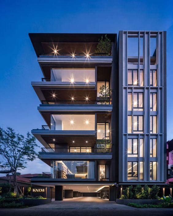 Top 6 thiết kế kiến trúc biệt thự nhiều tầng đẹp sang trọng ấn tượng