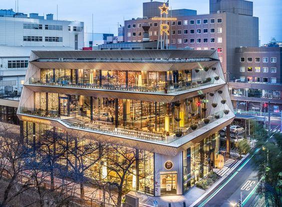 Thiết kế kiến trúc nhà hàng đẹp, sang trọng, ấn tượng độc đáo