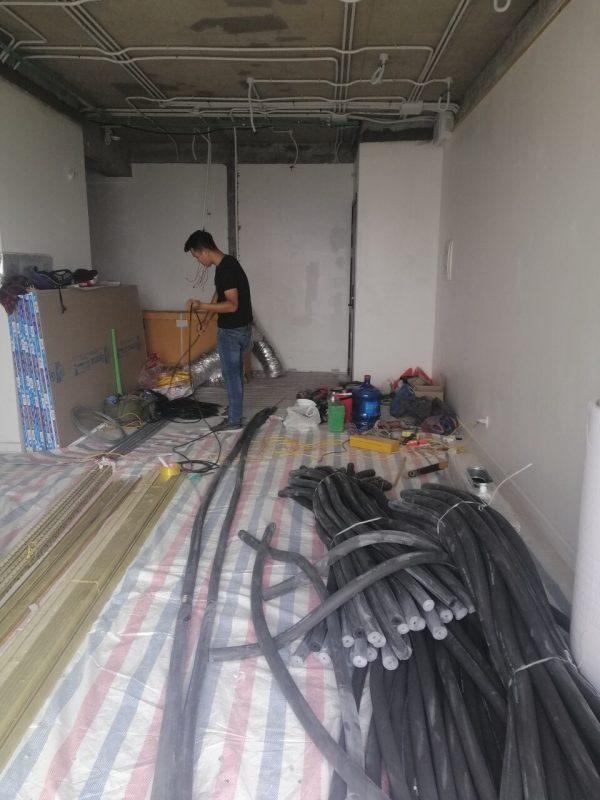 vật liệu cho thi công chung cư