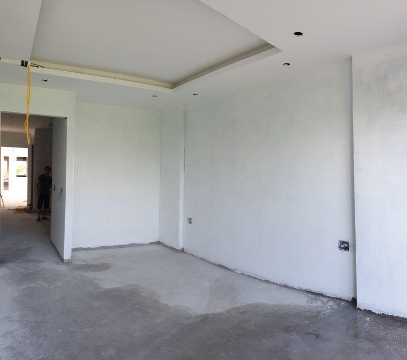 thi công trần thạch cao tầng 3