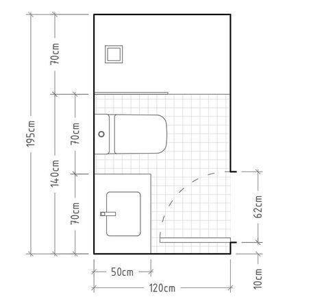 tiêu chuẩn diện tích phòng vệ sinh theo mặt bằng