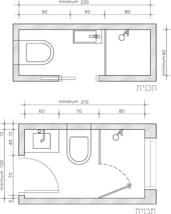 mặt bằng kích thước nhà vệ sinh tiêu chuẩn
