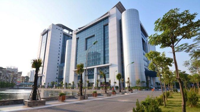 kiến trúc trang nghiêm của đại học kinh tế quốc dân
