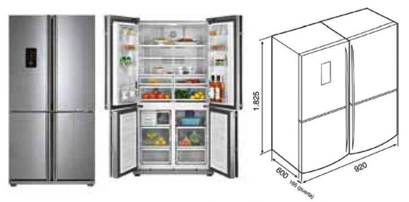 tủ lạnh tke 610l