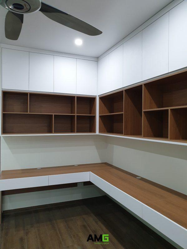 thi công lắp đặt nội thất phòng học