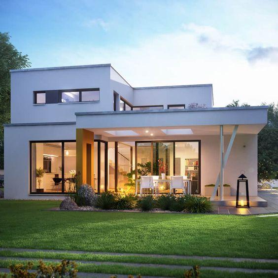 Thiết kế nhà hiện đại 2 tầng