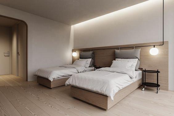 [Top 10] Phòng ngủ 2 người đẹp, tiện nghi và thoải mái nhất