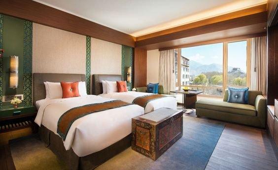 Phòng ngủ đôi theo phong cách tân cổ điển