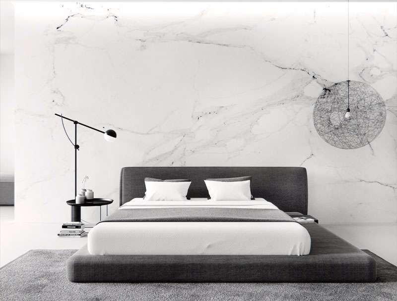 Nội thất phòng ngủ tối giản