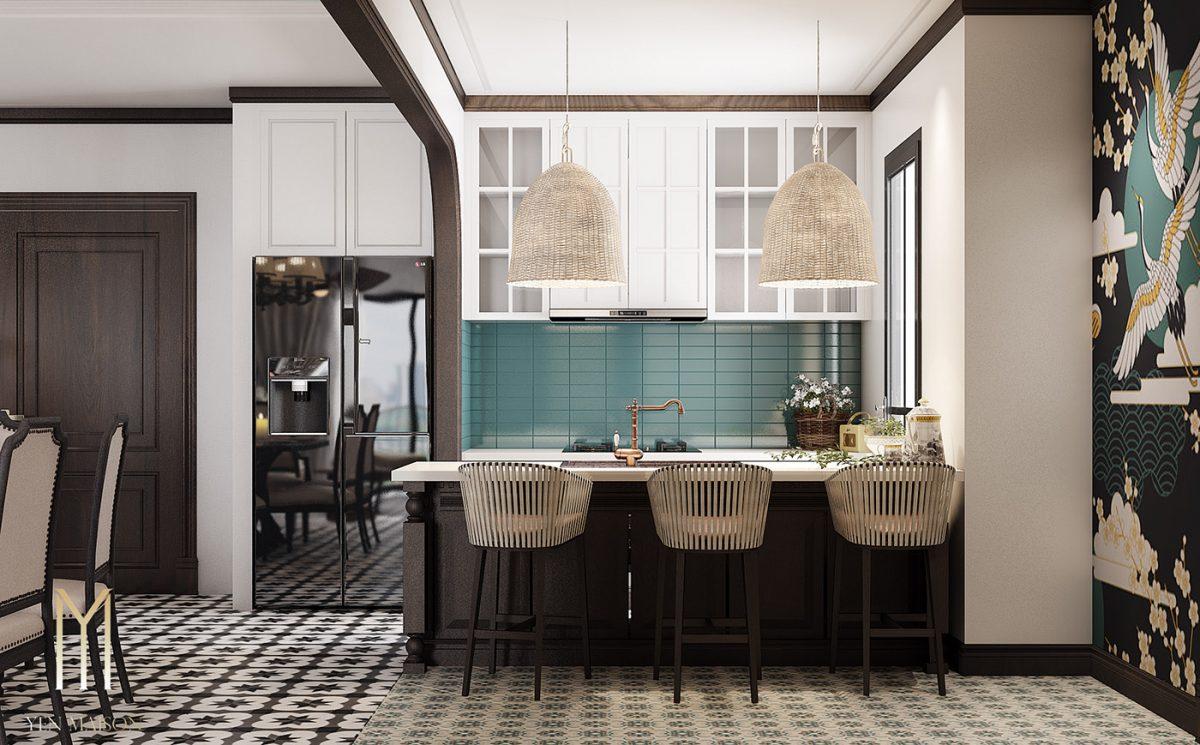 Thiết kế phòng bếp Đông Dương