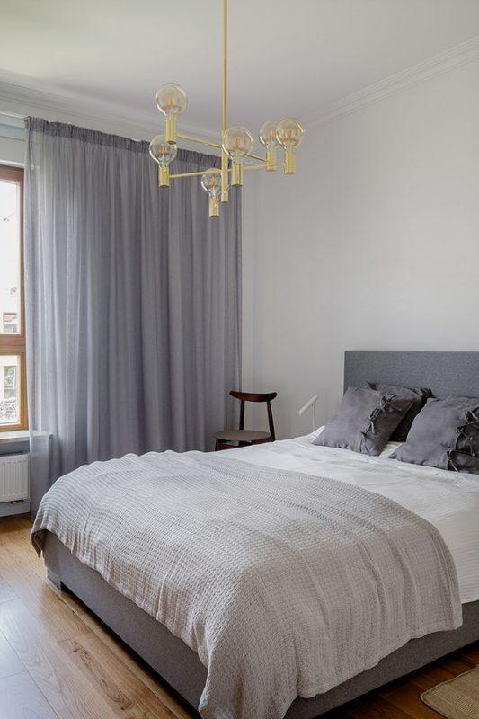 Thiết kế nội thất phòng ngủ Bắc Âu