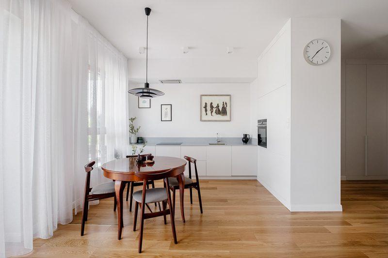 Thiết kế nội thất khu bếp ăn Scandinavian