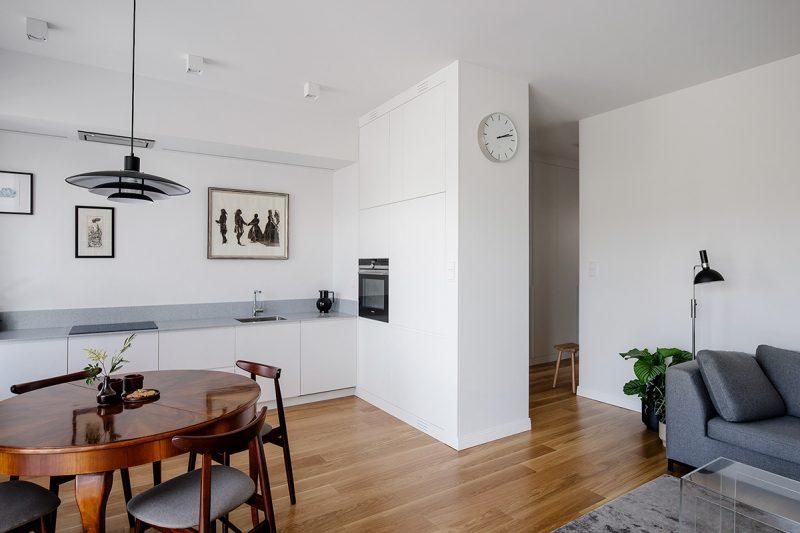 Thiết kế nội thất phòng bếp Scandinavian