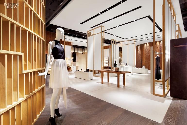Thiết kế showroom quần áo