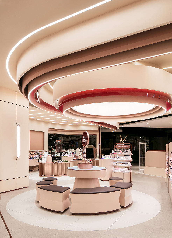 Thiết kế ghế nghỉ cho khách trong showroom