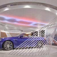Không gian trưng bày ô tô