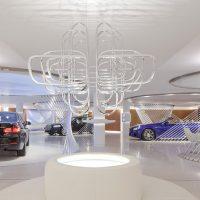 Thiết kế nội thất showroom trưng bày ô tô