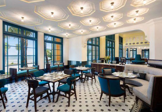 Thiết kế nội thất nhà hàng Đông Dương