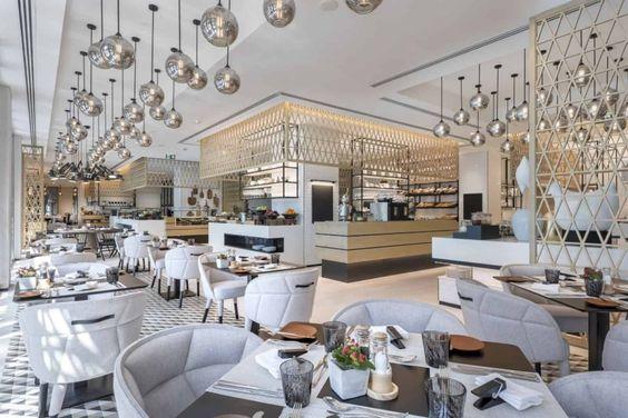 Nội thất nhà hàng Bắc Âu