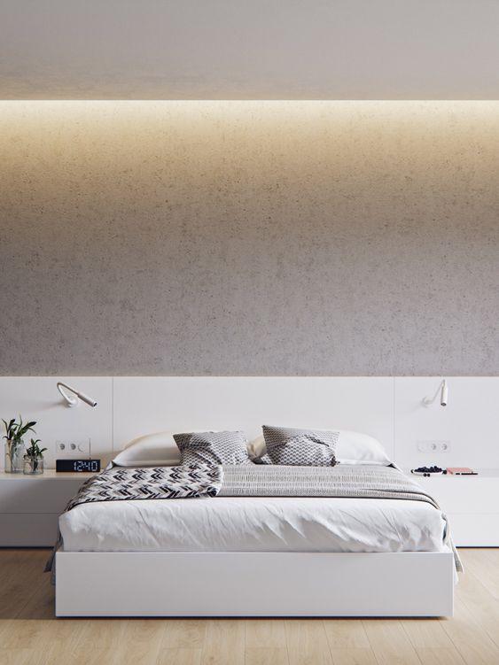 Thiết kế phòng ngủ phong cách tối giản