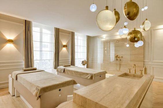 Thiết kế nội thất spa hiện đại tiện nghi