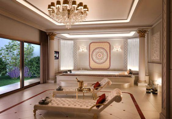 Thiết kế nội thất spa cổ điển