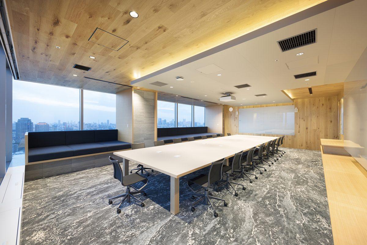 Thiết kế phòng họp đơn giản hiện đại