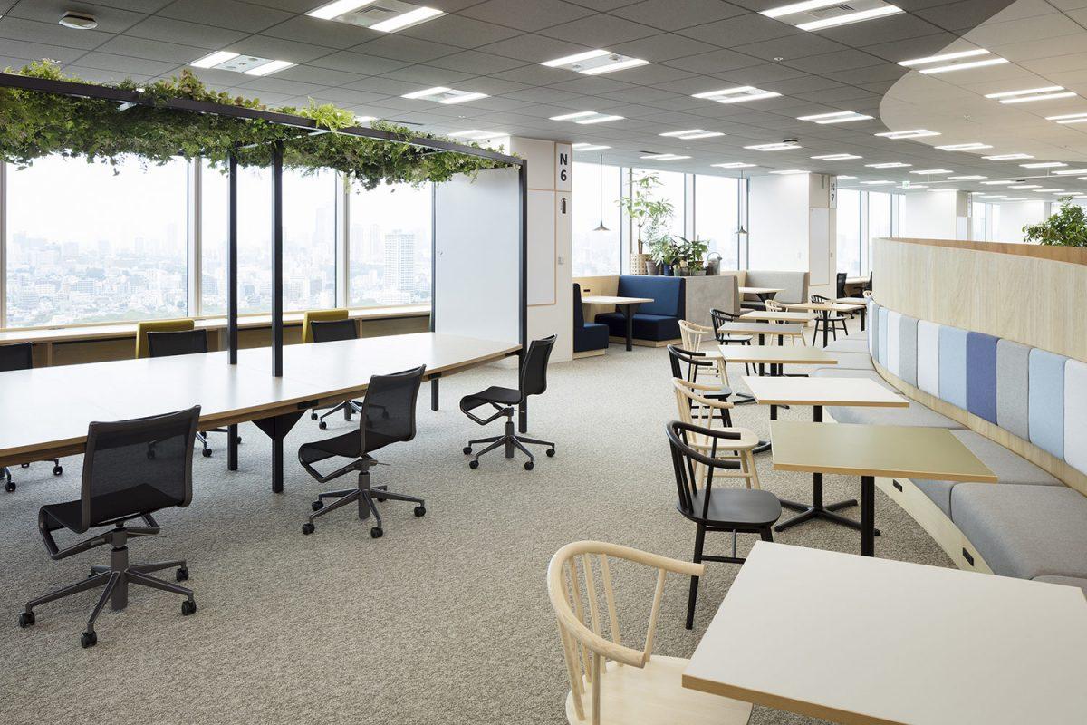 Thiết kế phòng làm việc cho nhân viên